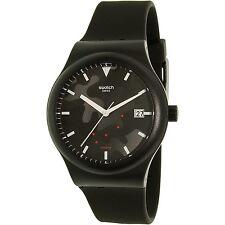 Swatch Men's Sistem51 SUTA401 Black Silicone Swiss Automatic Dress Watch