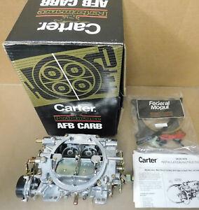 Carter NOS 9636SA AFB 625 CFM Carb, Electric Choke, Secondary Air Valve