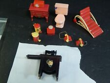 Vintage Plastic Doll House Furniture Ideal Plasco & Other Nice Lot