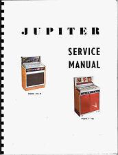 Service Manual (Service Manual) Jukebox jupiter 120-m and f-100 (Juke Box)