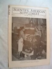 ScientificAmerican S-11/15 1913-English Channel Tunnel-Porcelain-Tractors-Starch