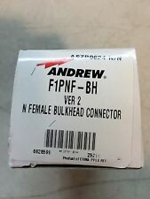 Andrew F1PNF-BH Ver2 (N) Female Bulkhead Connector