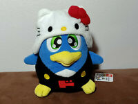 DonPen x Hello Kitty Don Pen Penguin Plush Doll Toy Eikoh Sanrio 2018 TAG Japan