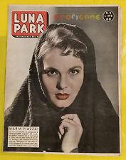 LUNA PARK 1958 n. 9 Maria Piazzai - Fotoromanzi a puntate