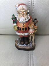 Anri Sarah Kay Santa Claus With Reindeer Le 718/750