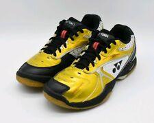 Yonex SHB 86 LTD Women's Badminton Shoes Black Gold Size 7 US 5 UK Pre-owned EUC