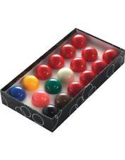 PowerGlide Classic Standard 17 Snooker Balls Set 47.5mm - Boxed