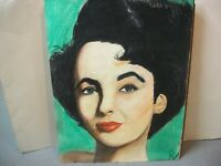 Liz Taylor  original pastel