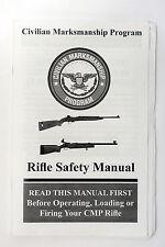 Civilian Marksmanship CMP Program Rifle Safety Manual