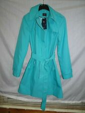 M&S Gorgeous Green Stormwear Mac Raincoat Trech Jacket  *Size 16L* BNWT RRP £45