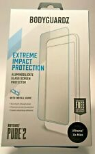 BODYGUARDZ PURE 2  GLASS SCREEN  FOR APPLE IPHONE 11 PRO MAX  IPHONE XS MAX