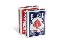 Bicycle Rider Back Old Fashion Case Spielkarten Poker Regular Index rot