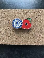 Chelsea Fc Poppy Pin Badge