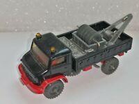 Wiking ( 366 / 4 ) - Unimog Werkstattwagen , schwarz  -  T@P