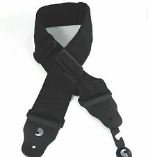 D'Addario - Planet Waves Bass Guitar Strap  74mm Padded  3 inches wide  Black