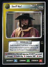 STAR TREK CCG HOLODECK RARE CARD PROFESSOR MORIARTY