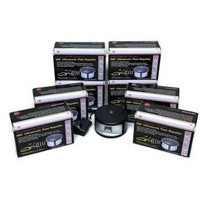 Enviro Bug Control - 360 Degree Ultrasonic Pest Repeller - Ultimate - 8 Pack