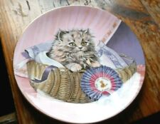Kitten Classics Plate Collection - First Prize - 1985 Bone China Royal Worcester