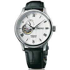 Seiko Presage Automatic Leather Strap Men's Watch SSA379J1