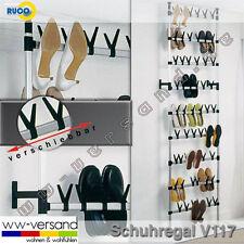 Groß & Stabil TELESKOP SCHUHREGAL Ruco V117 f. 54 Paar Schuhe NEU