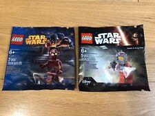🔹 Sellado 🔹 Lego Star Wars Minifigura polybags Paquete Colección 🔹 Exclusivo/2 X 🔹