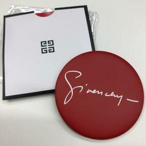 Givenchy Red Round Makeup Mini Mirror Promo Gift New