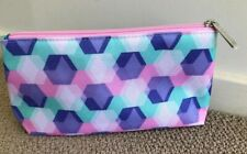 Clinique Colorful Makeup Cosmetic Bag Travel Bag - Brand New