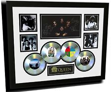 QUEEN FREDDY MERCURY SIGNED LIMITED EDITION FRAMED MEMORABILIA