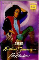 Donna Summer ..The Wanderer.. Import Cassette Tape