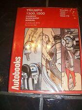 Autobooks Triumph 1300 1500 1965-73 Owners Workshop Manual 870