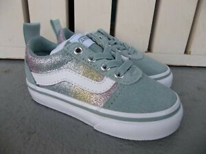 NWT VANS GIRLS TODDLER ERA ELASTIC LACE SNEAKERS/SHOES.SIZE 5.BRAND NEW FOR 2021