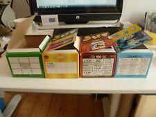 Panini World Cup 2006, 2010, Euro 2008, 2012  ** empty shop box of each =4 **