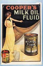 Postcard Nostalgia Coopers Milk Oil Fluid Sheep Dip Advertising Repro Card