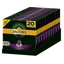 JACOBS Kapseln Lungo Intenso 200 Nespresso®* kompatible Kaffeekapseln