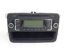 VW GOLF TOURAN PASSAT RADIO CAR AUDIO AUTORADIO MP3 RCD210 1K0035156B