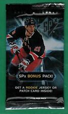 2012-13 SPX HOCKEY BONUS PACK BOX TOPPER 1 ROOKIE JERSEY OR PATCH INSIDE