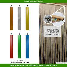 Tenda a fili in pvc piattina uscio porta finestra moschiera antimosche insetti