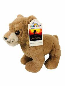 "Build A Bear Disney Lion King Young Simba Plush 10"" Rare HTF BRAND NEW"