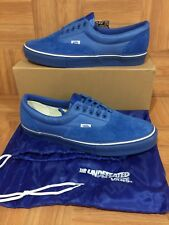 RARE🔥 VANS Era Undefeated LX Royal Blue Sz 13 Men's Shoes UNDFTD Suede Nylon LE