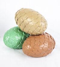 Set of 3 Game of Thrones Dragon Egg Prop Replica Set Eggs Halloween Decoration