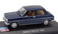 SIMCA 1100 LS 1968 1:43 IXO Altaya Diecast
