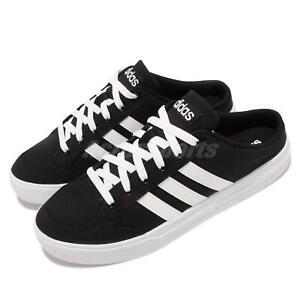 adidas VS Set Mule Black White Men Casual Slip On Loafers Shoes Sandals Pick 1