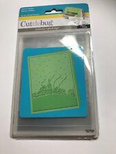 Cuttlebug Embossing Folder - Winter House / Christmas / Winter Theme 1 x Folder