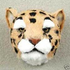 (1) Leopard Furlike Animal Magnet! (Gift Box Included. Holiday Gifts? Collect!