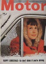 Motor magazine 26/12/1964 featuring Metallurgique, Art Arfons, Green Monster