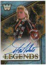 2017 Topps Legends of WWE Autographs Gold AUTO /10 GV Greg The Hammer Valentine