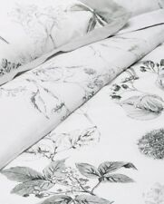 Next Wild Hedgerow Grey Cotton Sateen Oxford Pillowcase Pair