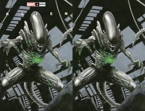Alien #1 Comics To Astonish Inc Exclusive Variant Cover & Virgin Trade Set Both