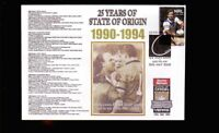 STATE OF ORIGIN 25th ANNIV COV, 1990-1994 WALLY LEWIS