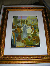 "C.T. Russell PHOTO-DRAMA of Creation Photo ""Cleansing Temple"" Watchtower IBSA"